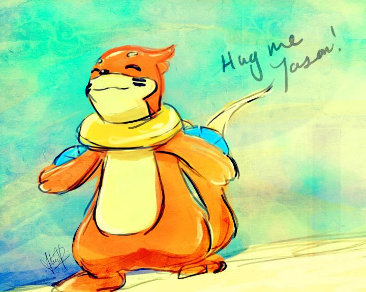Buizel wants a hug by ReignOfComputer