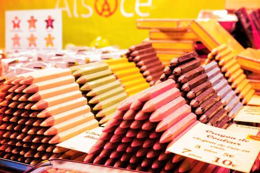 Choco pensils
