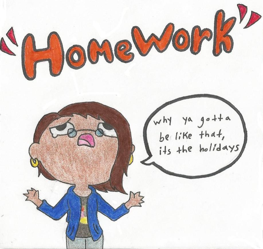 Homework for summer holidays