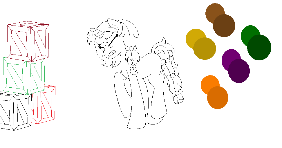 Mlp W.I.P by Kitte-chan