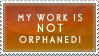 Anti Orphan Works Stamp