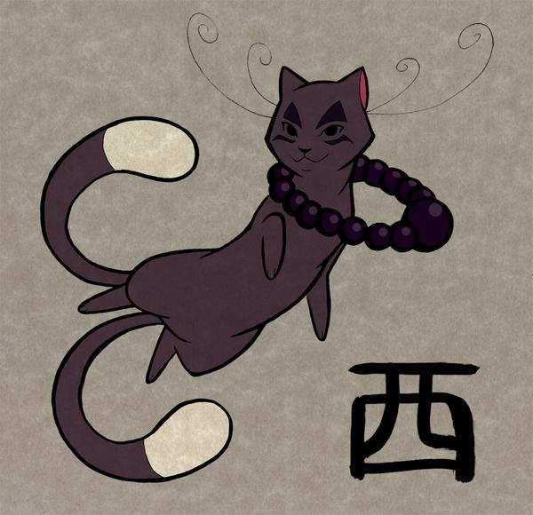 Zodiac Cat Redesign by Furrama