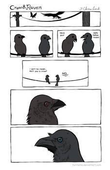 Crow and Raven No. 1