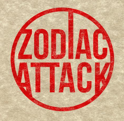 Zodiac Attack Logo by Furrama