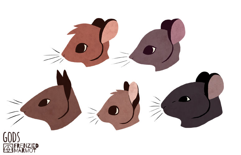 Mouse Head Design by Furrama
