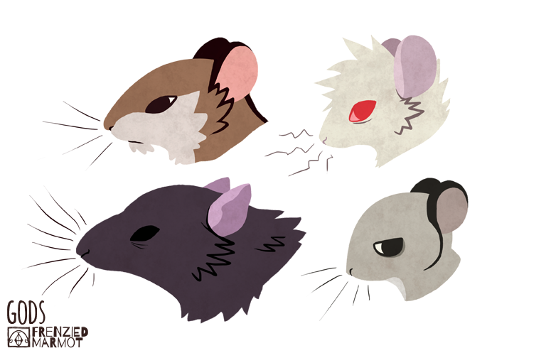 More Mouse Head Design by Furrama