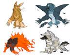 Werewolfed OCs