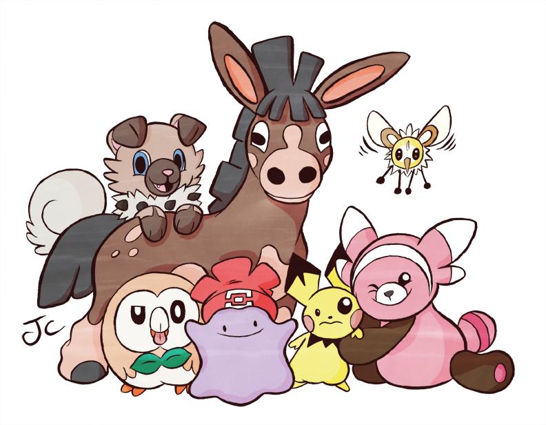 Pokemon Sun Team by Furrama