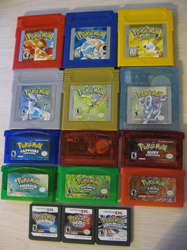 Pokemon Games b...