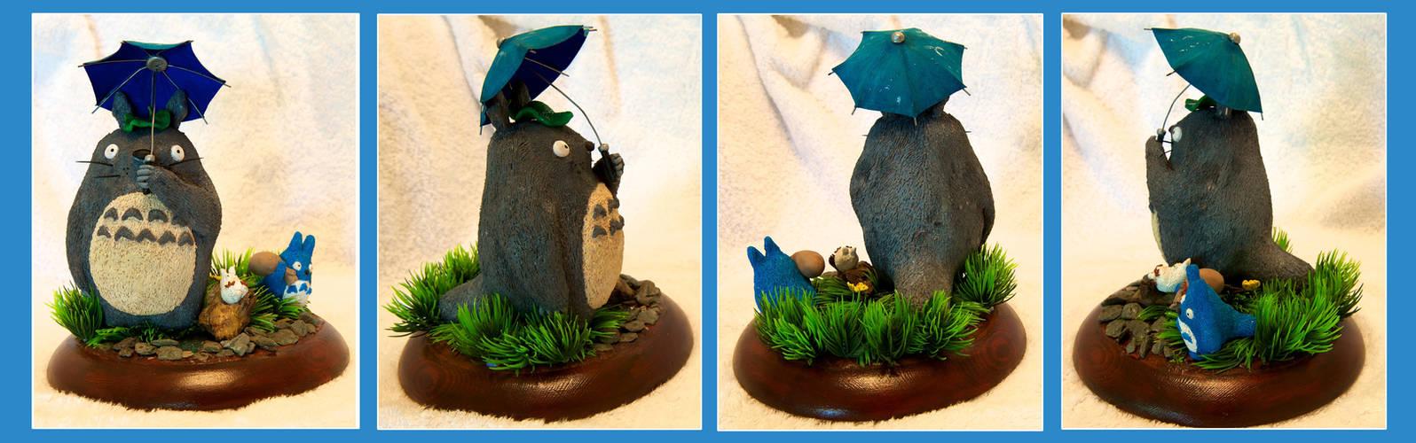 Handmade Totoro Diorama