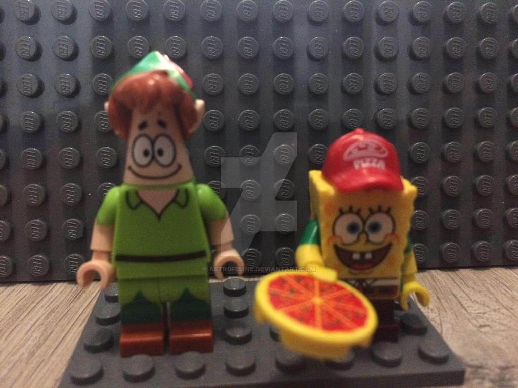 spongebob and patrick's halloween costumeastr0feline on deviantart
