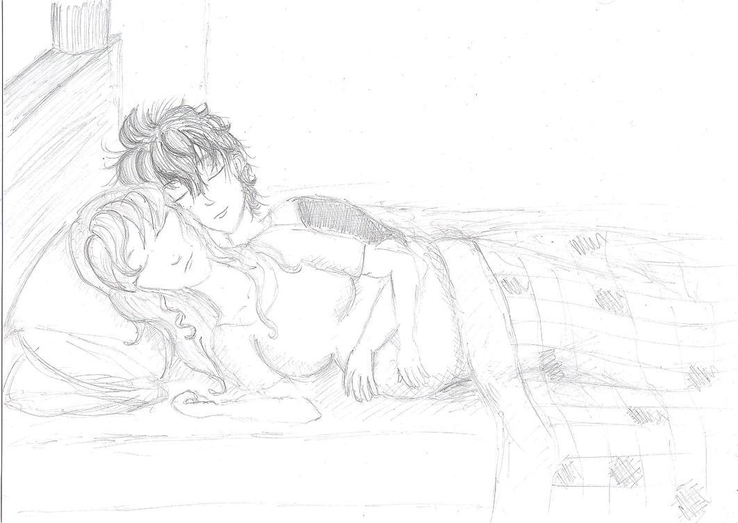 Sleeping Couple by mithua