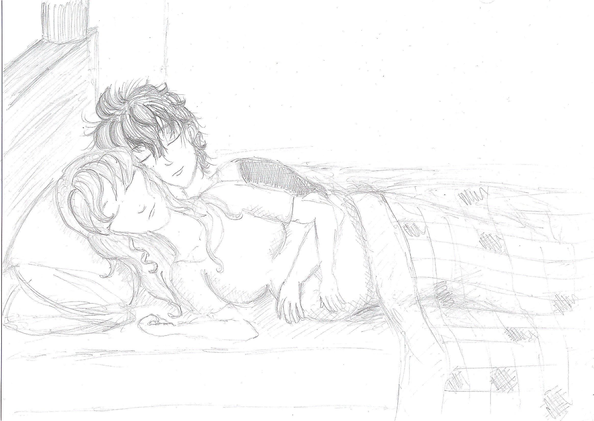 Sleeping Couple by mithua on DeviantArt