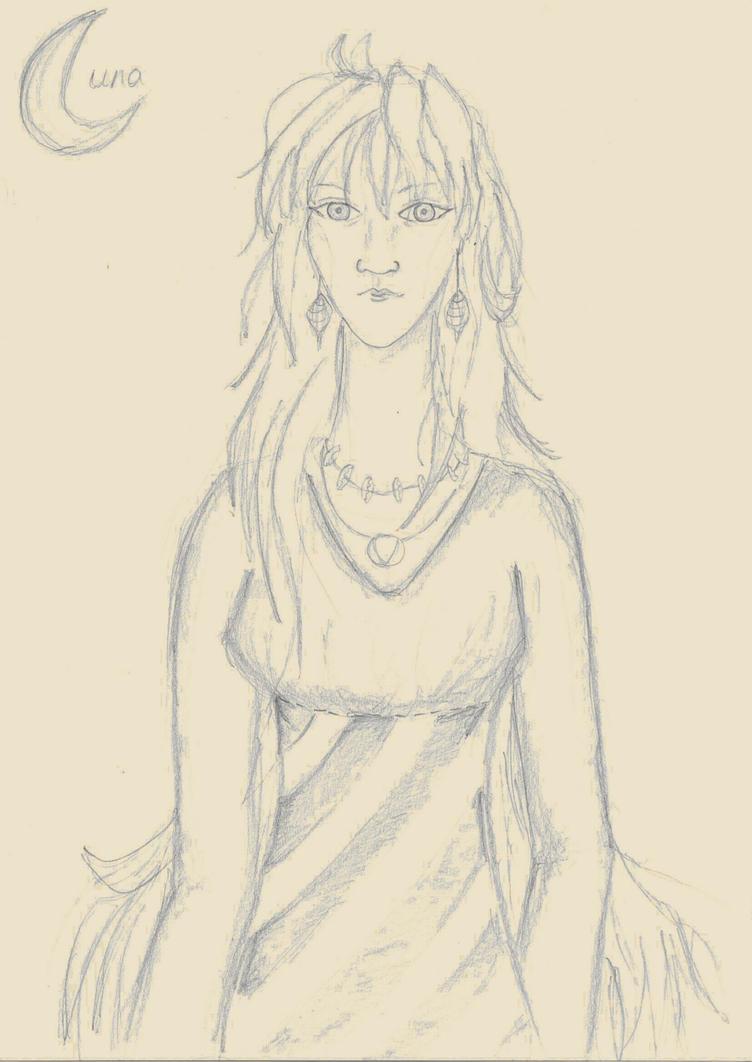 Older Luna by mithua