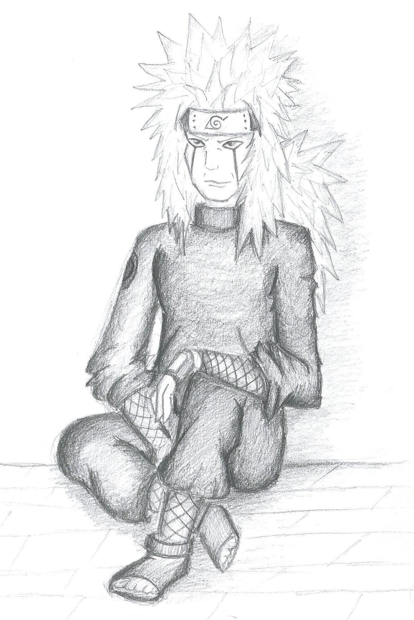 Jiraiya the Jounin by mithua