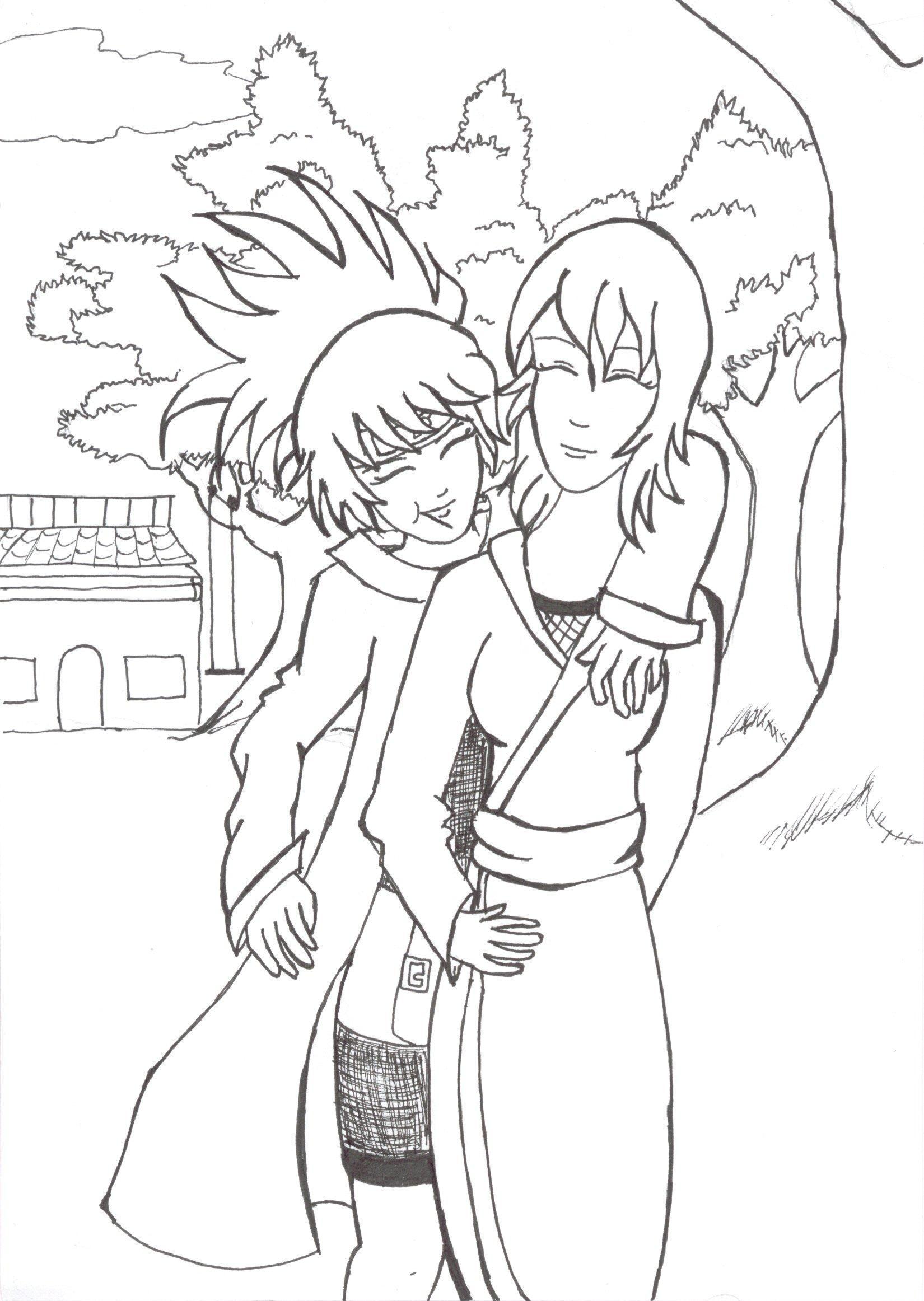 Anko and Shizune by mithua