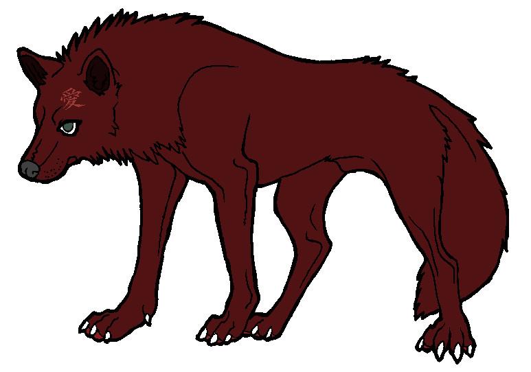 Gaara wolf by Rouge-Taiashi on DeviantArt Gaara As A Wolf