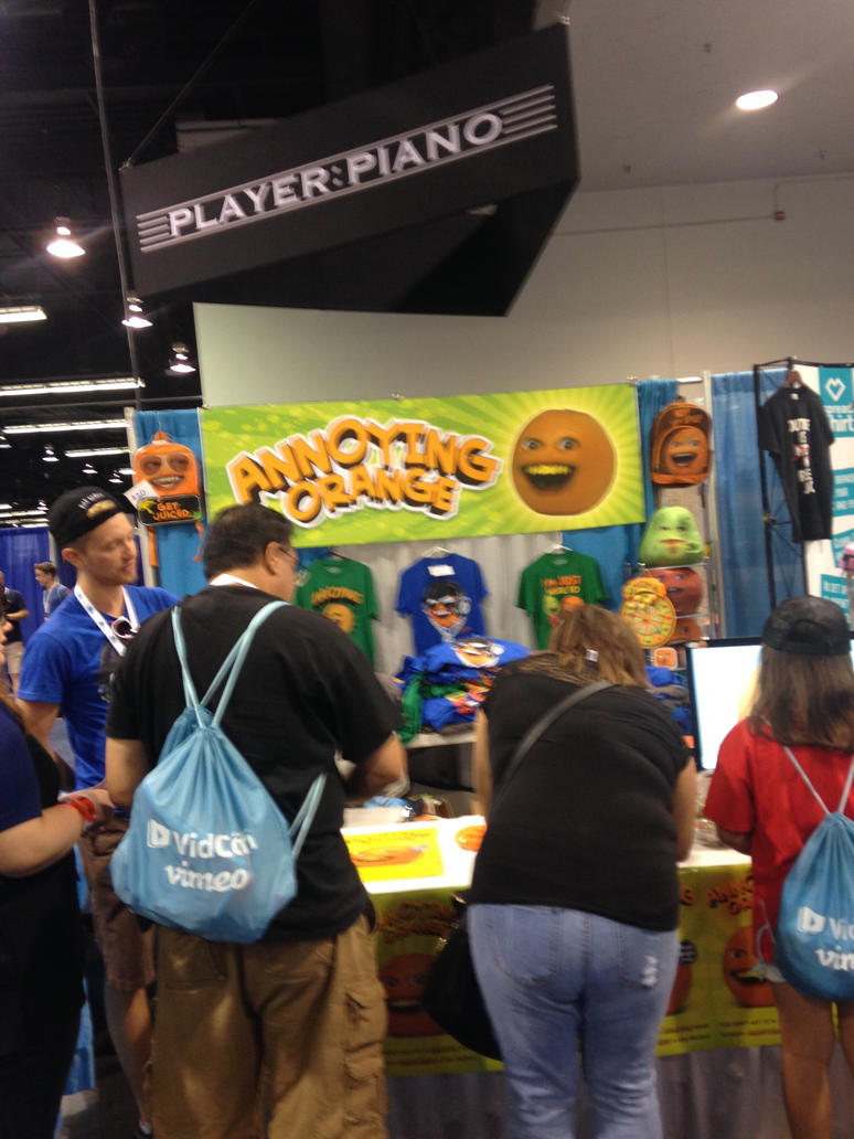 annoying orange booth by legocreepers1234