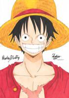 Monkey.D.Luffy by HikariUtsumi