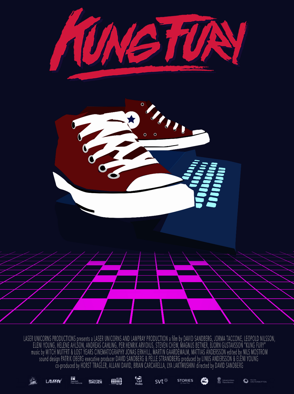 Kung Fury Poster (fan art) by Vanessa-Chaddouk