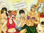 Gintama Powa Mini Contest: SwimWear Contest by frozentofu