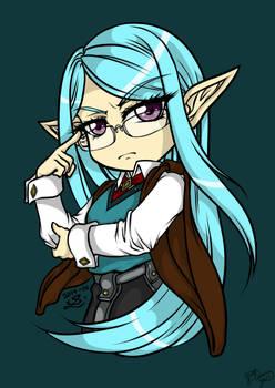 Elven Scholar Colored
