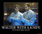 FRINGE - Walter With A Knife