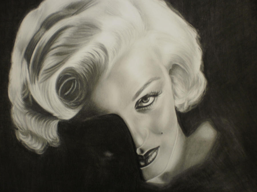 Marilyn Monroe - 2 by Mariannaeva