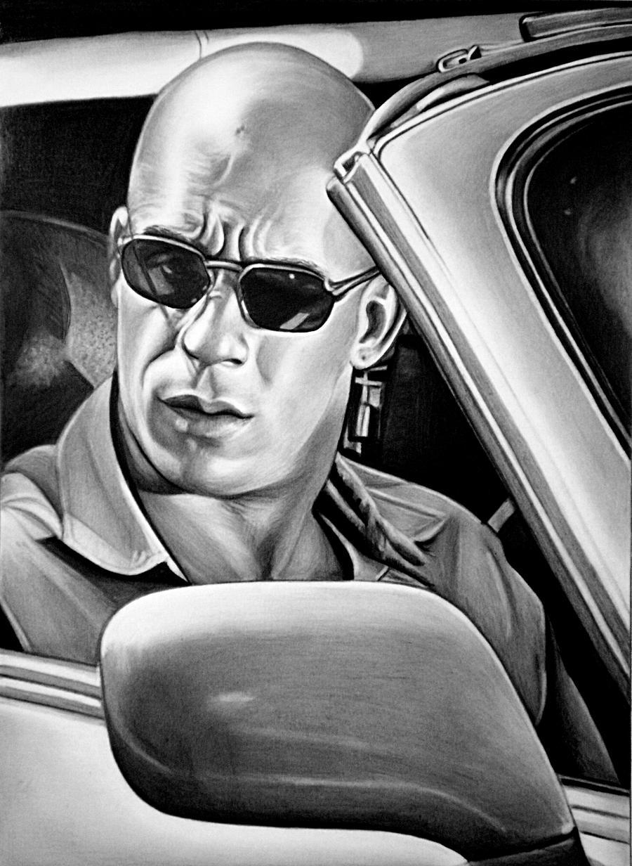 Vin Diesel by Mariannaeva
