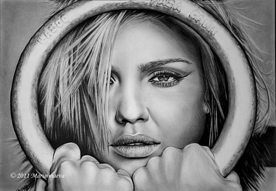 Jessica Alba by Mariannaeva