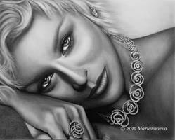Sharon Stone by Mariannaeva