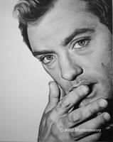 Jude Law by Mariannaeva