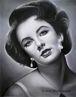 Elizabeth Taylor 2 by Mariannaeva