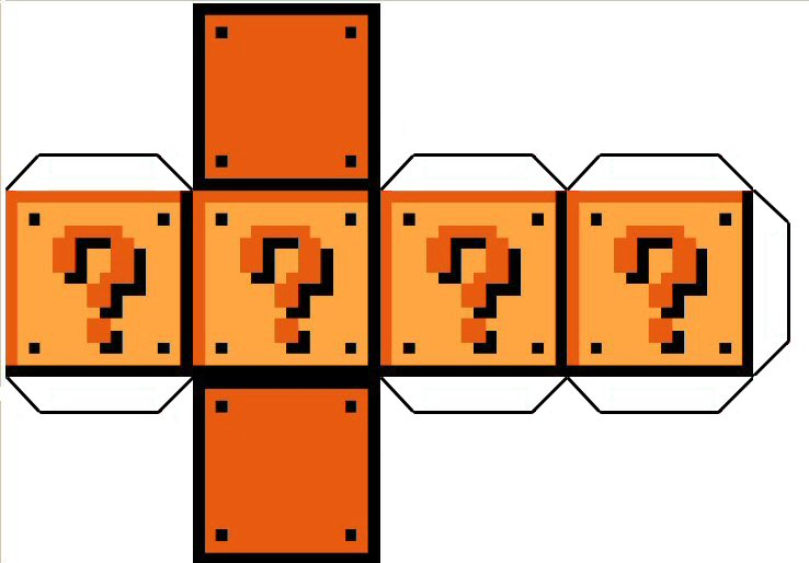 question mark block template by cypher7523 on deviantart