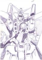 Gundam wing zero by Cypher7523