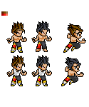 Jin Kazama Sprite Sample by Cypher7523