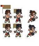 Jin Kazama Sprite Sample by Cypher7523
