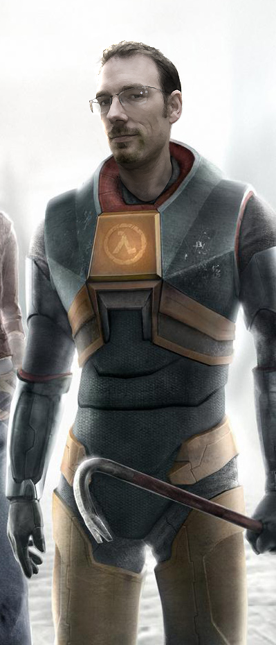 Gordan Freeman Headswap HL2 by Cypher7523