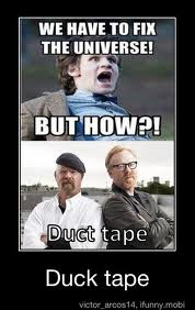 Duck Tape xD by KaitlinIshMe