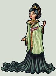 Lady Fu Hao by killingarkady