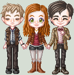 Team TARDIS - Season 5 by killingarkady