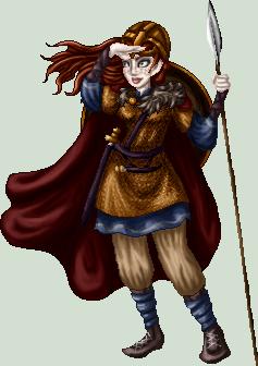 Freydis Eiriksson by killingarkady