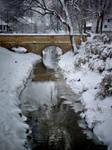 In winter...