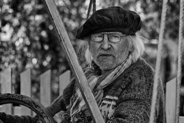 Old Seaman by hadeeldar
