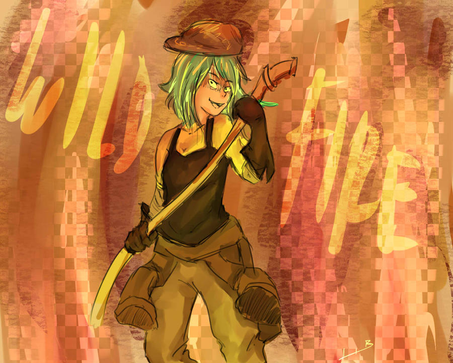 Gumi Wildfire by Yukina-Tenma