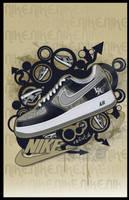 Nike AF1 by refutal