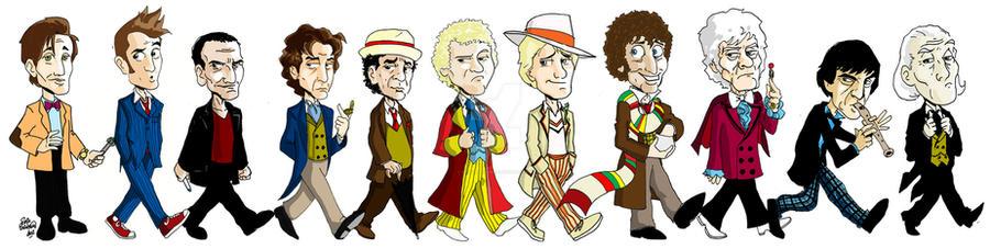 The Eleven Doctors by erikburnham