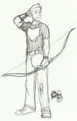 Hawkeye by erikburnham