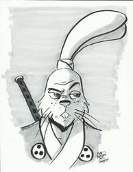 12 Days of Geeksmas 2013 #04: Usagi Yojimbo by erikburnham