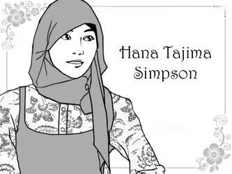 Hana Tajima Simpson by die-waffen-legt-an